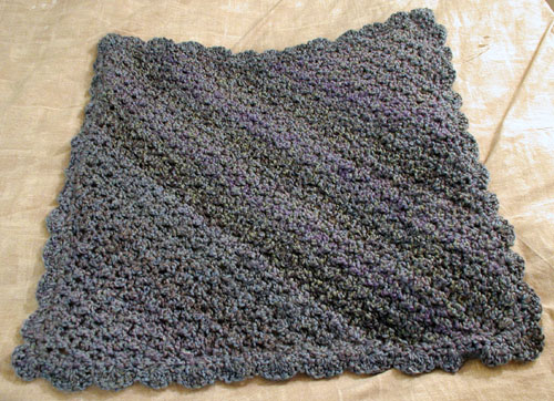 Homespun Baby Blanket in Windsor