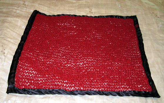 Satin-Edged Blanket