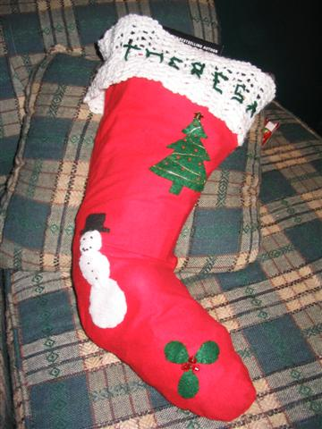 Aunt Theresa's Stocking