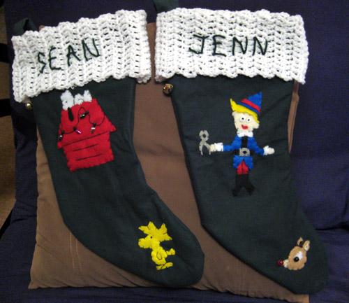 Hutchinson Family Stockings
